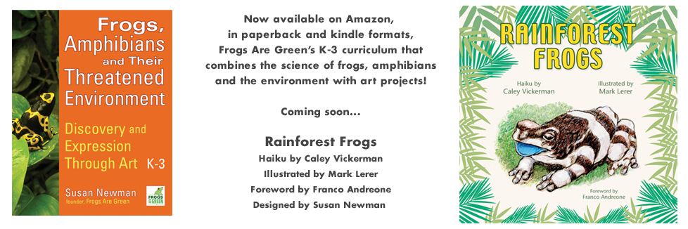 Frog Books and teaching resources from Susan Newman and Frogs Are Green