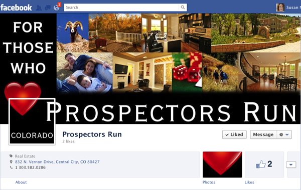 Prospectors Run Facebook Timeline Cover and Profile Graphics