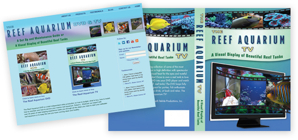 The Reef Aquarium TV DVD