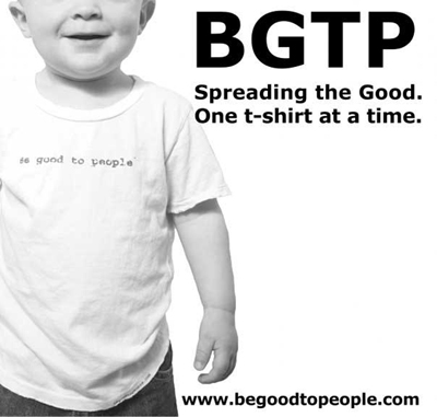 Be Good To People - Baby Tee