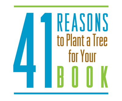 41 reasons to plant a tree for your book logo