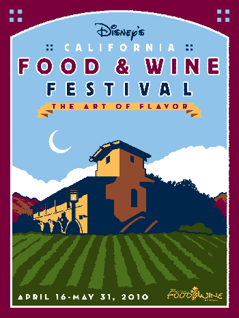 California Food & Wine Festival by Todd Radom Design