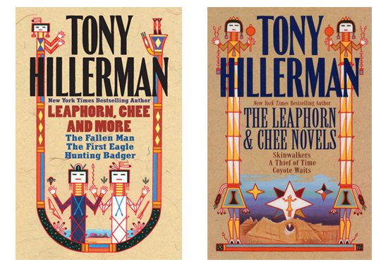 tony hillerman booc cover design by Peter Thorpe