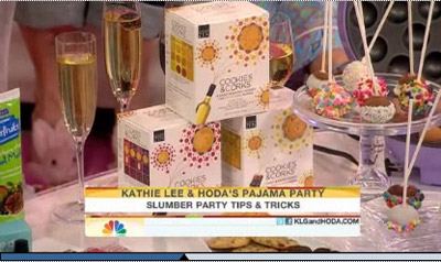 Cookies & Corks on Today Show