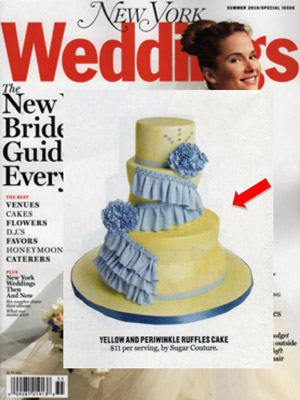 Sugar Couture featured in NY Magazine