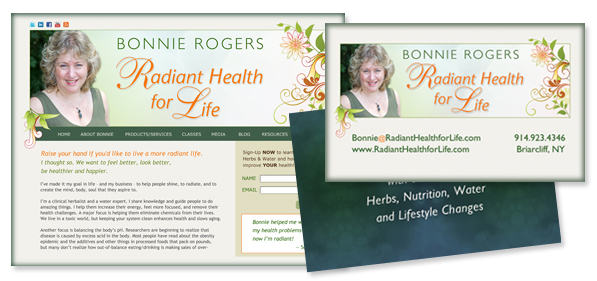 Bonnie Rogers Radiant Health for Life