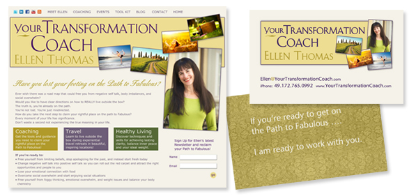 Your Transformation Coach Ellen Thomas
