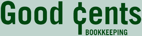 Good Cents Bookkeeping Logo