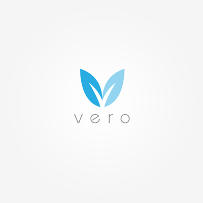 Vero logo by just creative design