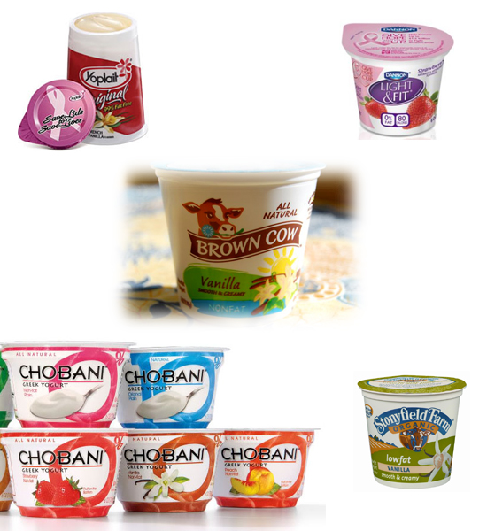 Yogurt brands and pink breast cancer campaigns