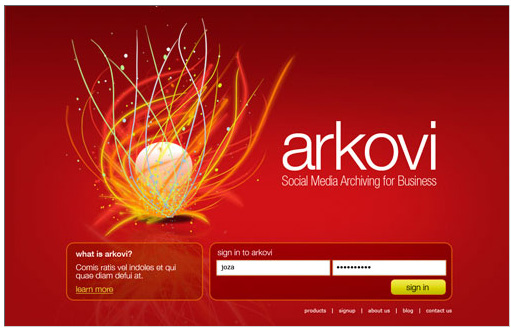 Arkovi Logo and Web Site Design