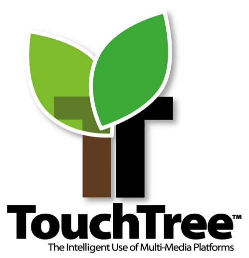 TouchTree logo design