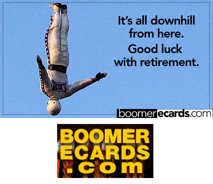 Baby Boomer ecards by DesignConcept - Cannon Man