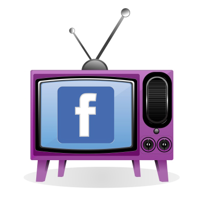 Facebook advertising on TV