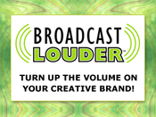 Broadcast Louder ad for sidebar