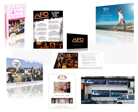Circle Marketing - Collateral Designs
