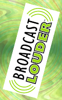 Broadcast Louder Banner ad vertical