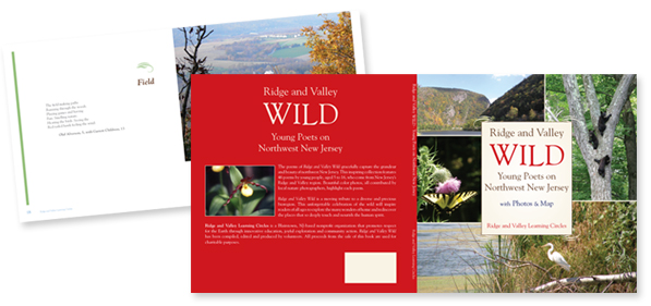 WILD - Young Poets on Northwest New Jersey - Book design