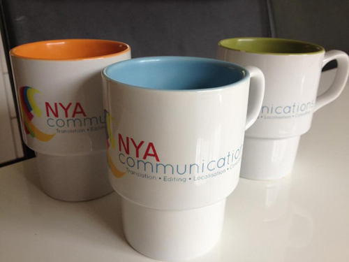 Branded Mugs - NYA Communications