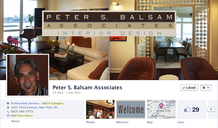 Peter Balsam Associates Facebook Cover Image