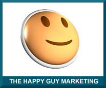 Happy Guy Marketing Logo