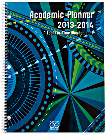 academic planner 2013-2014 by Order Out of Chaos