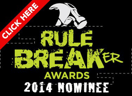 Rule Breaker Awards 2014 - Susan Newman, Frogs Are Green