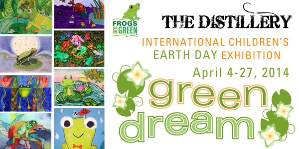 Green Dream - International Children's Earth Day Exhibition in Jersey City 2014