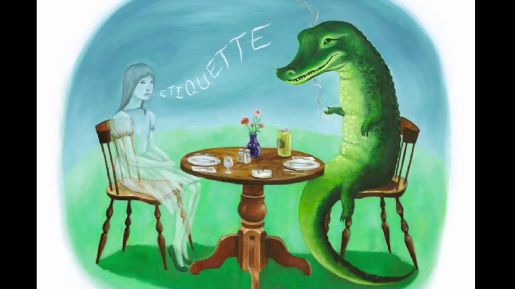 This is the cover art for the album Etiquette by the artist Casiotone for the Painfully Alone. The cover art copyright is believed to belong to the label, Tomlab /, or the graphic artist(s).