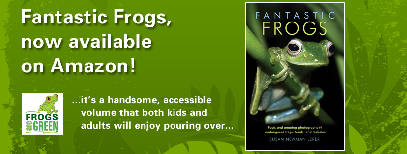 Fantastic Frogs by Susan Newman Lerer