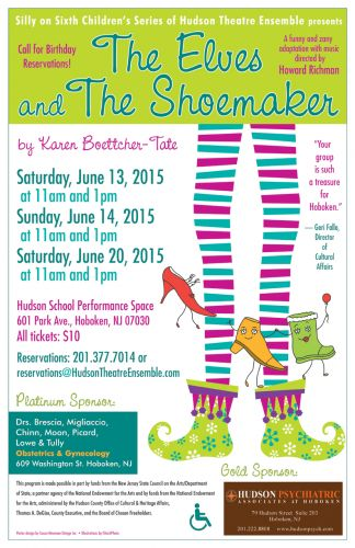 Elves and the Shoemaker, June 2015 Hudson Theatre Ensemble, designed by Susan Newman