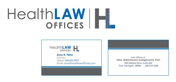 HealthLaw Offices - Branding, print marketing, Web design