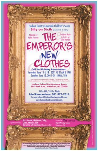 Emperor's New Clothes poster design