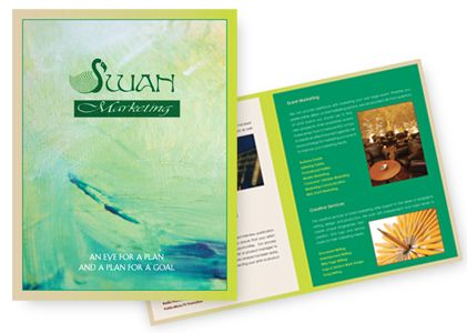 Swan Marketing brochure design
