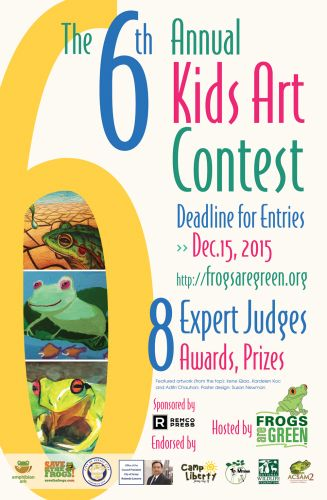 2015 Frogs Are Green Kids Art Contest