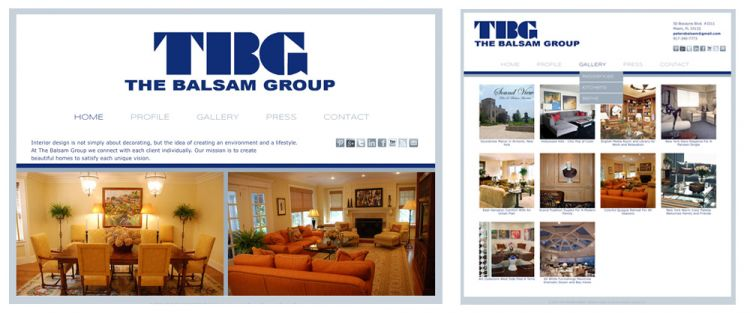 Balsam Group, interior designers in New York and Florida