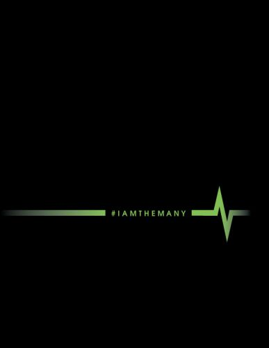 #IAMTHEMANY poster design via See.Me by Susan Newman