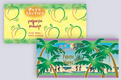 Pat's Exotics - Package Design