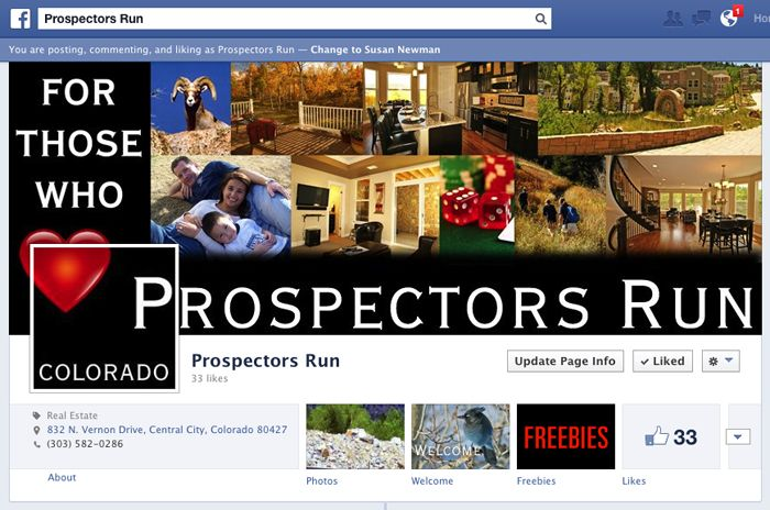Prospectors Run on Facebook