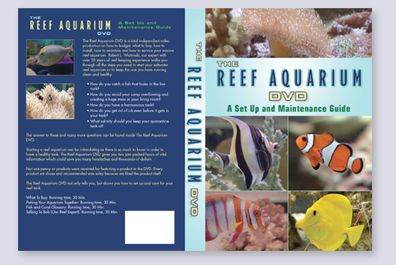 Reef Aquarium DVD package design