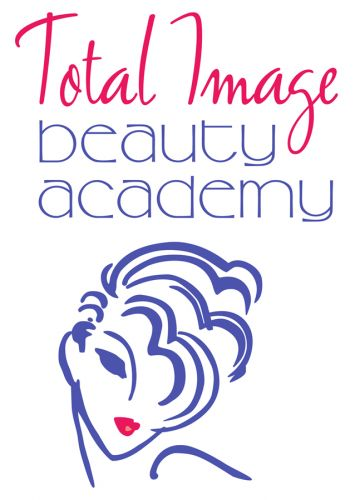 Total Image Beauty Academy logo design by Susan Newman Design Inc.