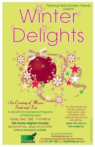 Winter Delights, Holiday Fundraiser for Pershing Field Garden Friends