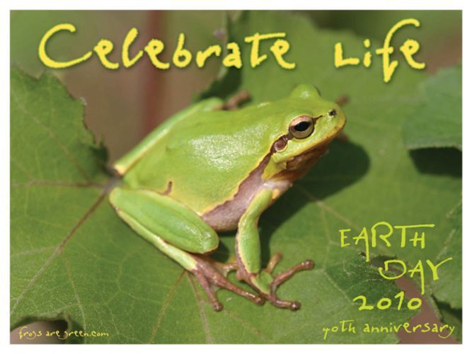 40th Anniversary of Earth Day Poster - Photograph by Kerry Kriger.