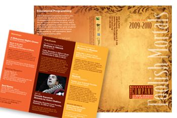 Actors Shakespeare Company brochure design