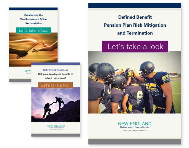 Brochure Series Design for New England Retirement Consultants