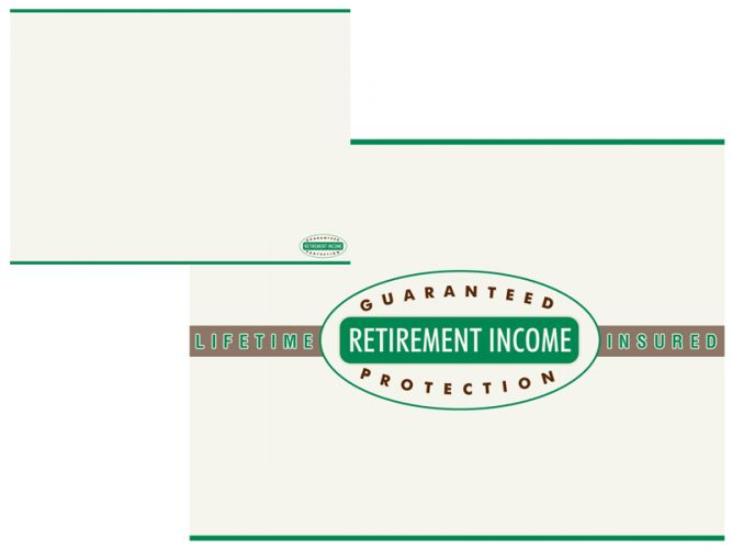 Powerpoint design for Lifetime Guaranteed Retirement Income Protection