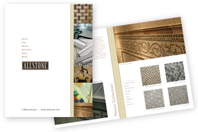 Allstone brochure design