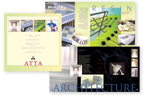 Atta, Inc. Brochure Design for products
