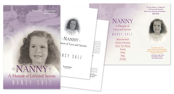 Nanny: A Memoir of Love and Secrets by Nancy Salz