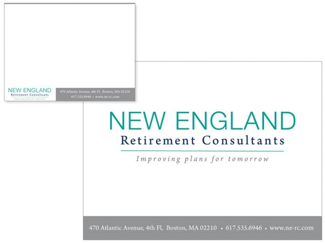 PowerPoint design for New England Retirement Consultants of Boston, MA.